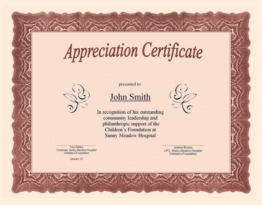 St. James®Certificates, Gioche Red w/ Gold Seals, Pack of 25