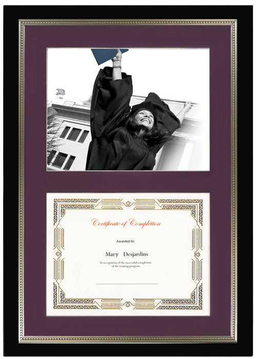 St. James® Dual Certificate Frame, 23¼ x 16¼\