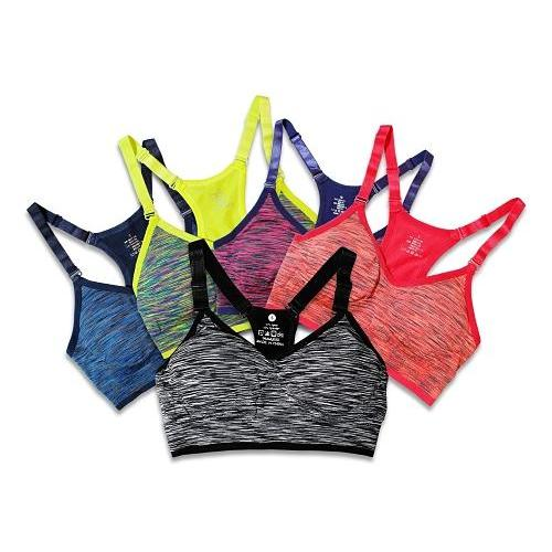 Quick Dry Seamless Sports Bra:Bra:Trendy Fitness Essentials