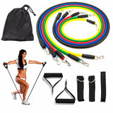 Stackable Resistance Training Rope Set | 11 pcs:Fitness Gear:Trendy Fitness Essentials