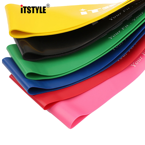 Original ITSTYLE® Resistance Band Set | 6 pcs:Fitness Gear:Trendy Fitness Essentials