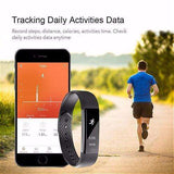 Waterproof Smart OLED Fitness Tracker:Gadget:Trendy Fitness Essentials