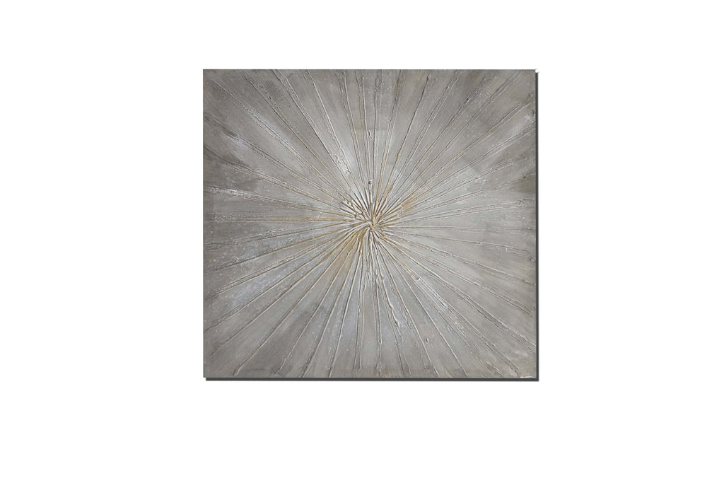 Starburst Abstract Art Canvas Print