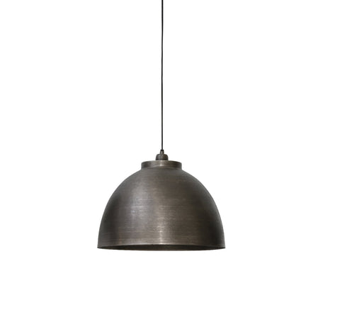 Kylie Dark Raw Nickle Pendant Light - Diameter 45cm