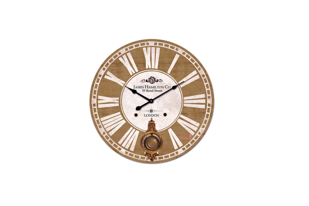 James Hamilton Wall Clock