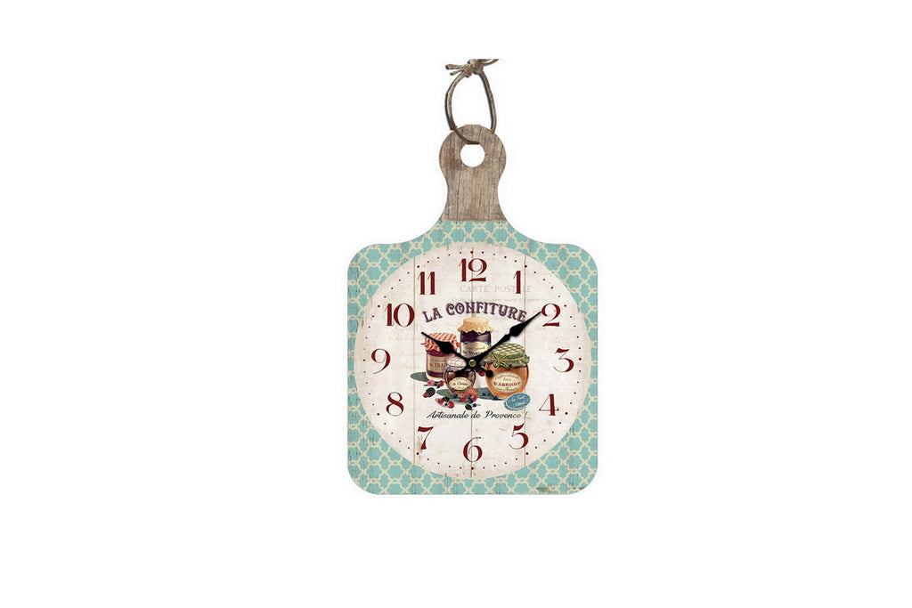 La Confiture Chopping Board Style Wall Clock