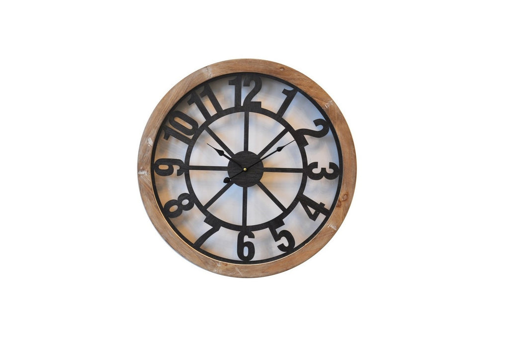 Modern Iron Wall Clock