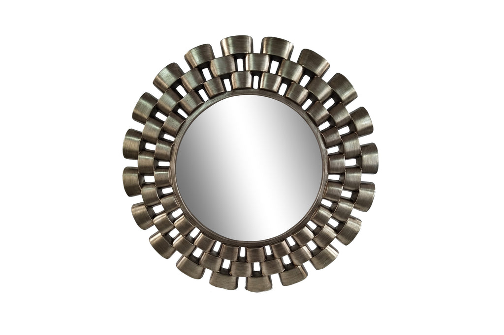 Contemporary Chain Link Wall Mirror