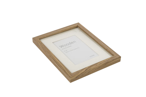 Oak Effect Natural Wooden Photo Frame 6 x 4 Inches