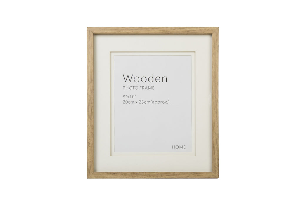Oak Effect Natural Wooden Photo Frame 10 x 8 Inches