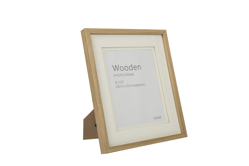 15214563a30 Oak effect Natural Wooden Photo Frame 8x10 For Nursery decoration ...