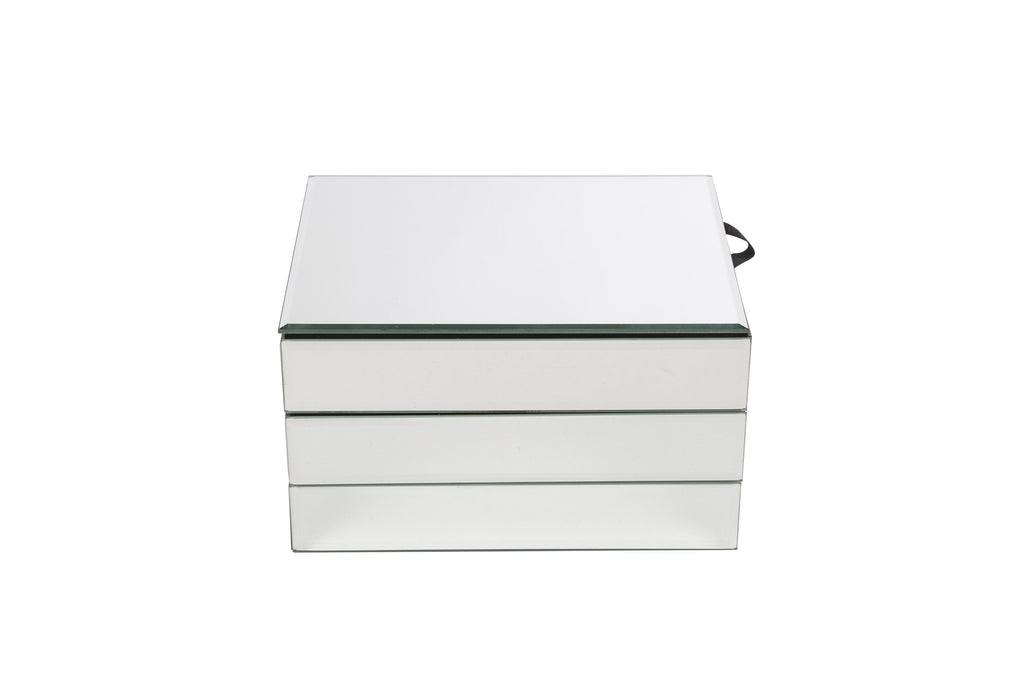 Amelia Mirrored Jewellery Box