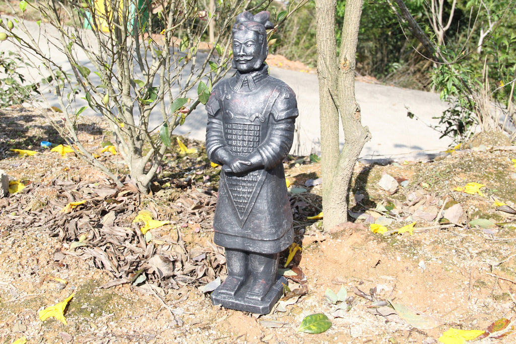 Garden Ornament General Lee The Large Standing Terracotta Army