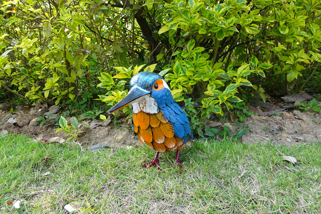 Garden Ornament Kattie The Kingfisher