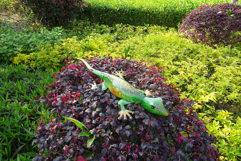 Garden Ornament Liza The Green Lizard