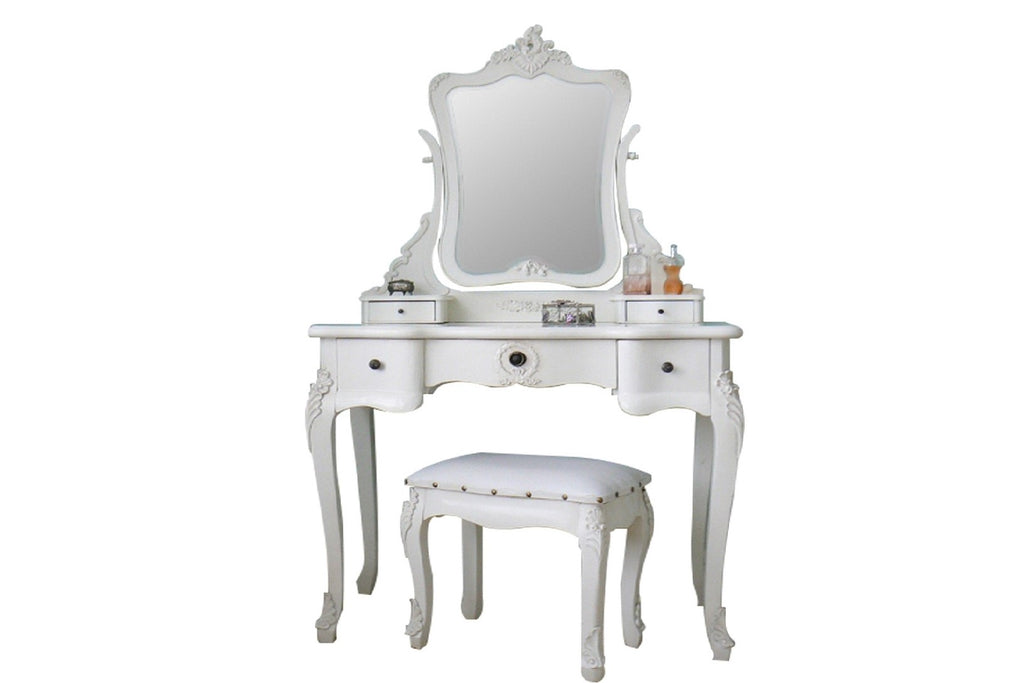 White French Style Dressing Table Set