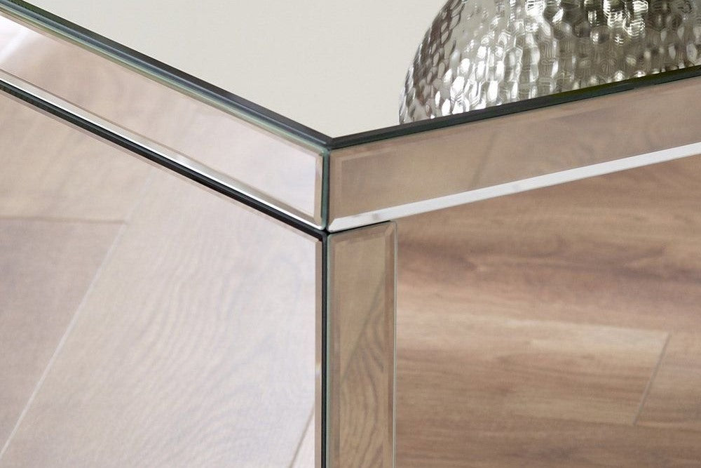 Peachy Mirrored Coffee Tables Venetian Coffee Tables Slate Rose Dailytribune Chair Design For Home Dailytribuneorg