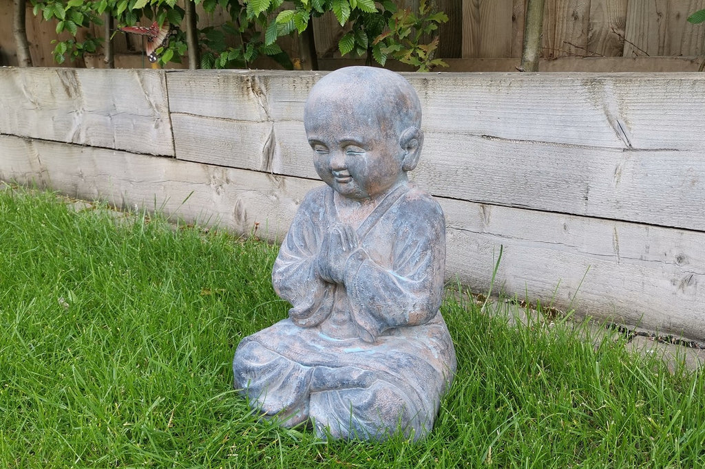Garden Ornament Oriental Monk
