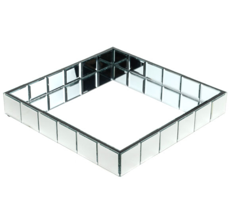 Amelia Mirrored Square Display Tray 31cm x 31cm