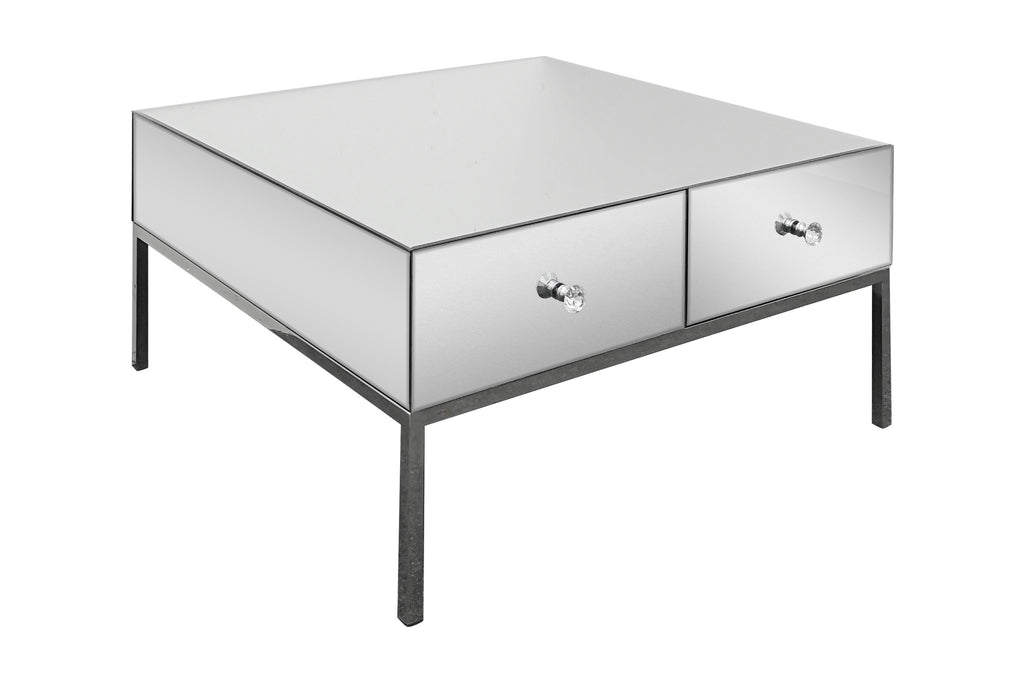 Aurelia Mirrored Coffee Table
