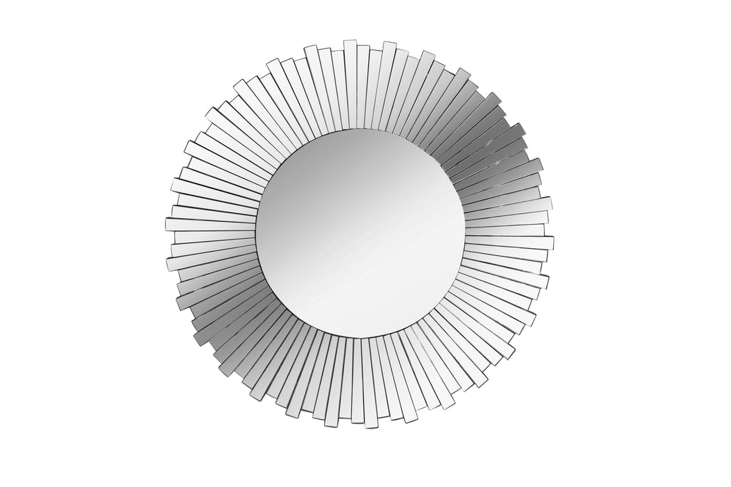 Large Mirrored Sunburst Mirror