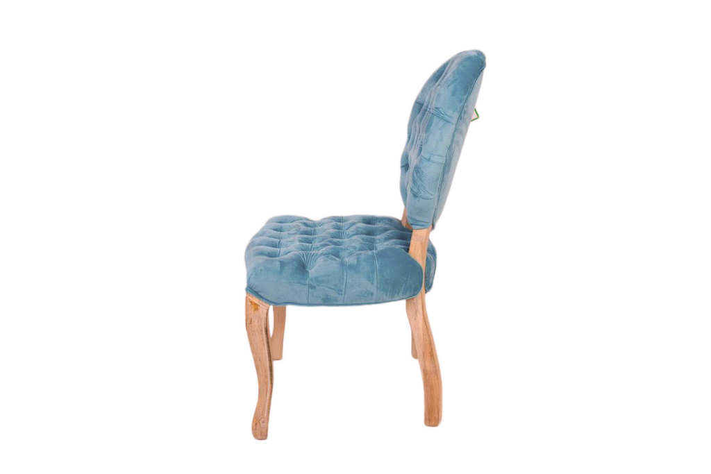 Dalton Button Tutted Uphlstered Dinning Chair