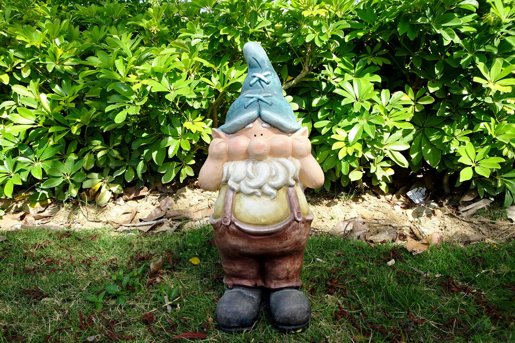 Garden Ornament Gary The Gnome Hear No Evil