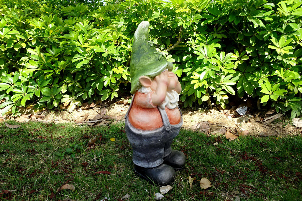 Garden Ornament George The Gnome See No Evil