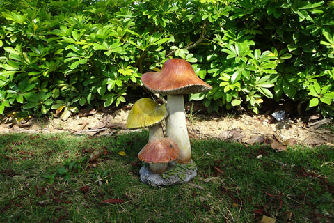 Garden Ornament Small Mushrooms