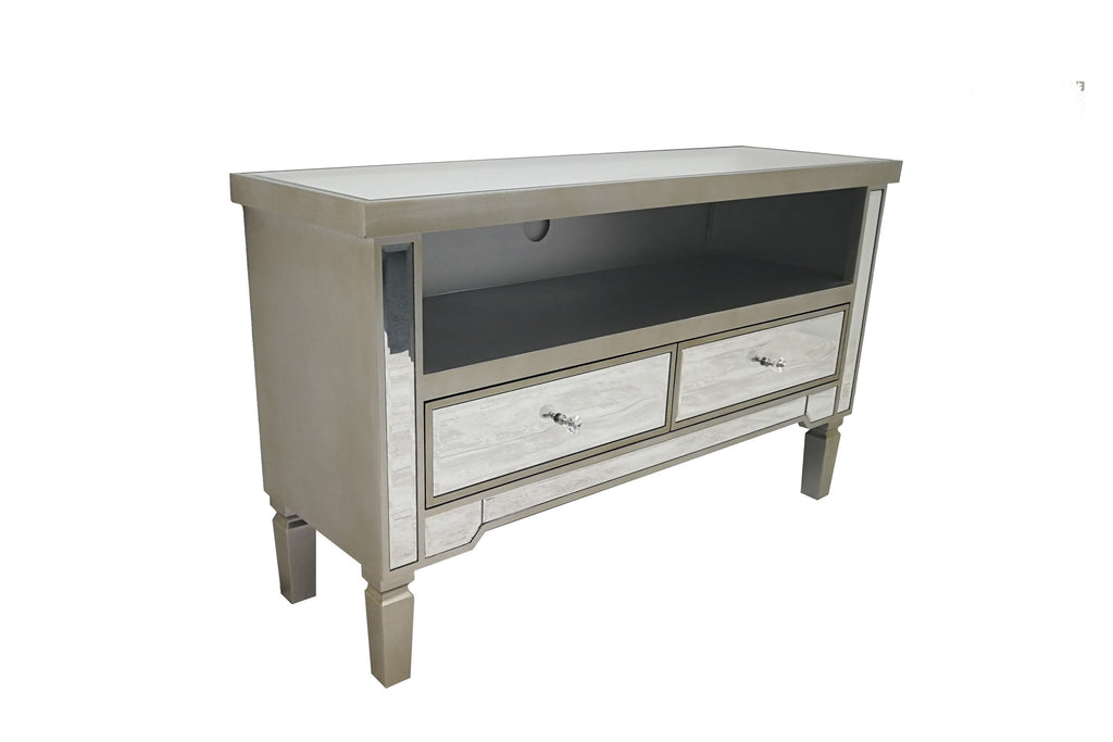 Lila Mirrored TV Cabinet