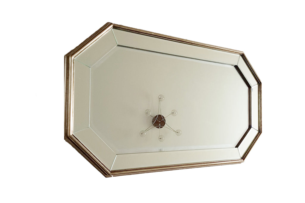 Simplicity Bevelled Hexagon Mirror