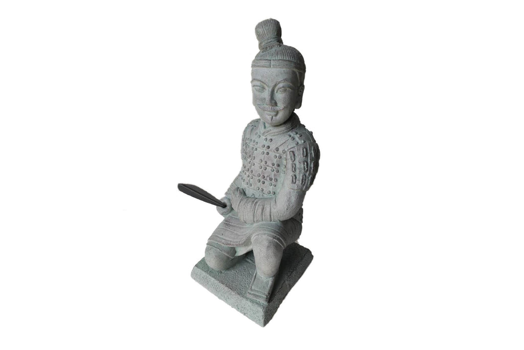 Garden Ornament General Qin The Large Kneeling Terracotta Army