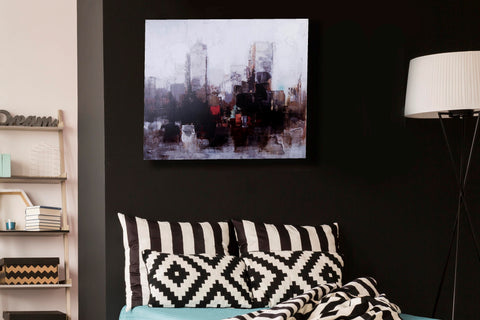 Canvas New York Skyline Canvas Art Print - Width 60cm