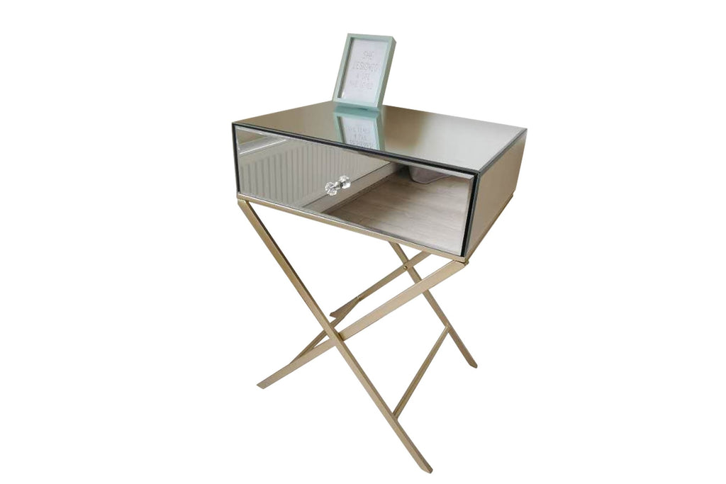 Westbury Mirrored Bedside Table
