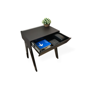 Black Smart Nightstand - Curvilux