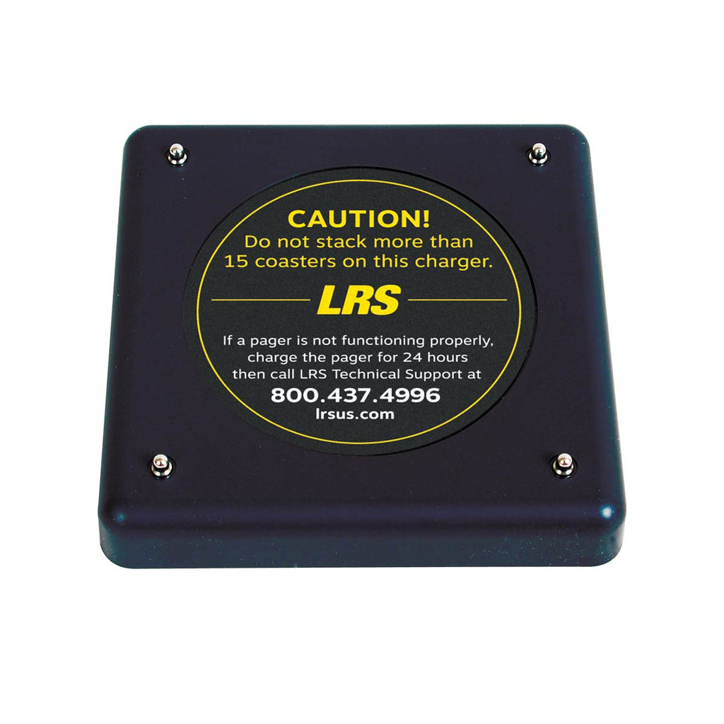 An image of the LRS Guest Pager Charging Base for up to 15 pagers (CH-R8-15) for instant guest notification, wait list management.