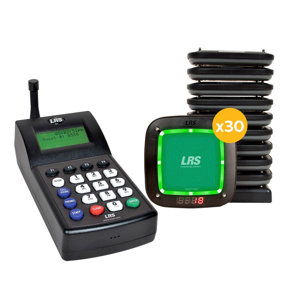 LRS Connect Guest Pager PRO Kit (15, 30, 45 and 60 kit sizes available)