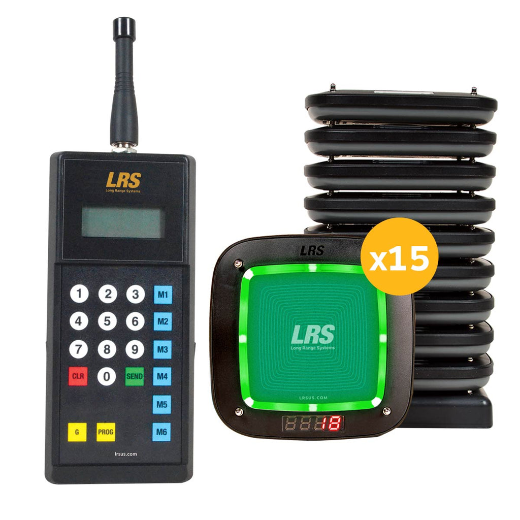 LRS Guest Pager Kit MT (15, 30, 45 and 60 kit sizes available)