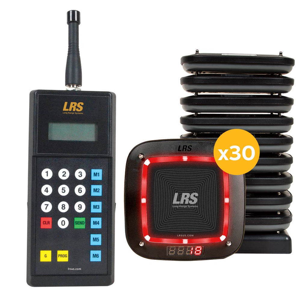 LRS Connect Guest Pager PRO MT Kit (15, 30, 45 and 60 kit sizes available)