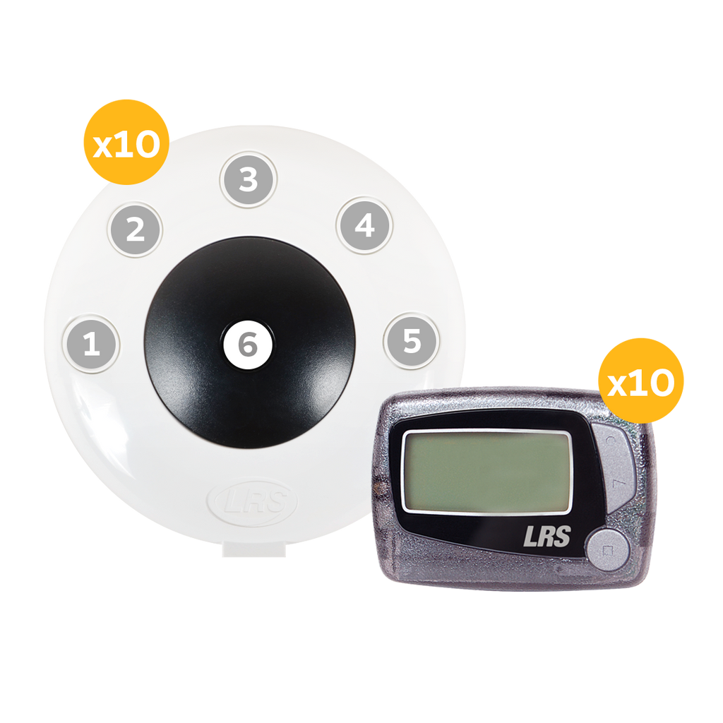 LRS Pronto One-Button Push-for-Service System (1, 5, 10, 15 and 20 kit sizes available)