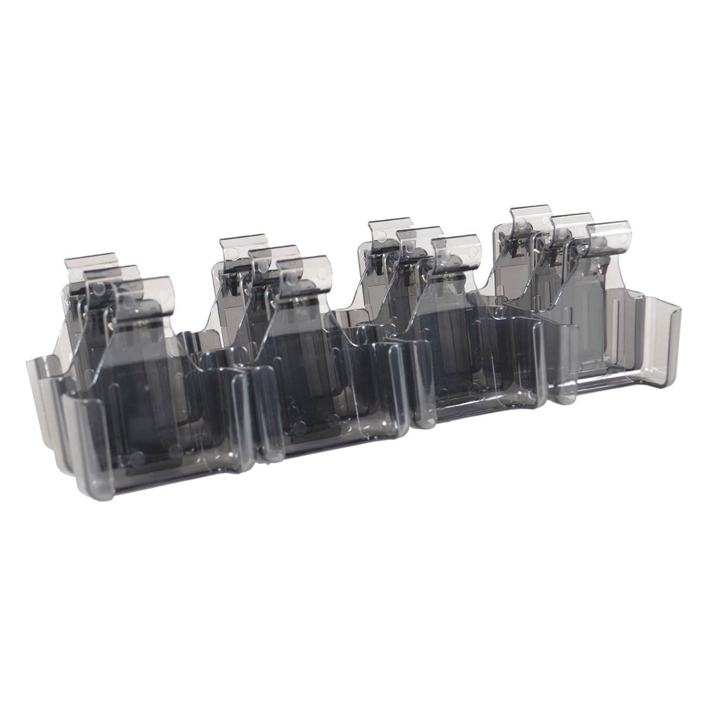 An image of the LRS Staff Pager Belt Clip Holder (K2-0014) used by professionals in industries such as restaurants, doctors offices, hospitals, schools and universities, urgent care centers, resorts, churches, blood banks and libraries.