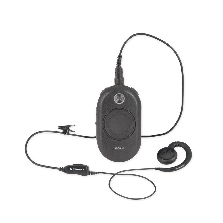 Motorola CLP 1010 - 1 Channel Radio - With Headset