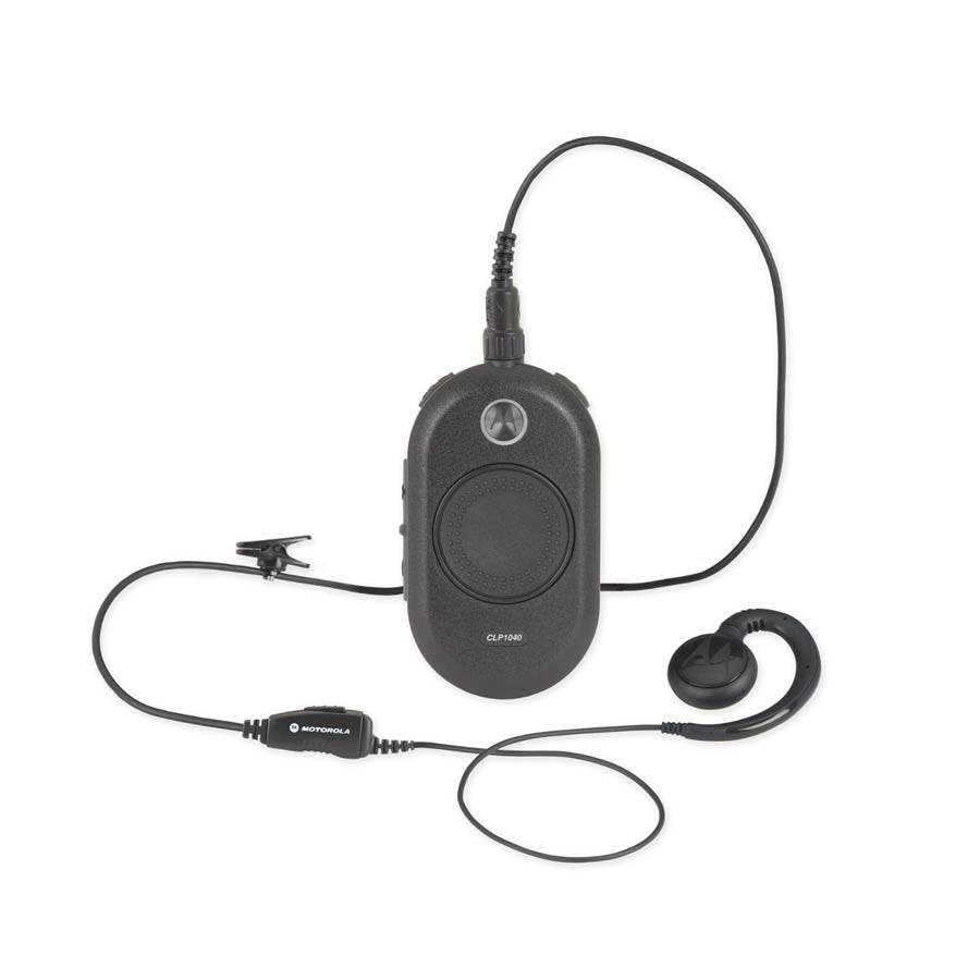 Motorola CLP 1040 - 4 Channel Radio - With Headset