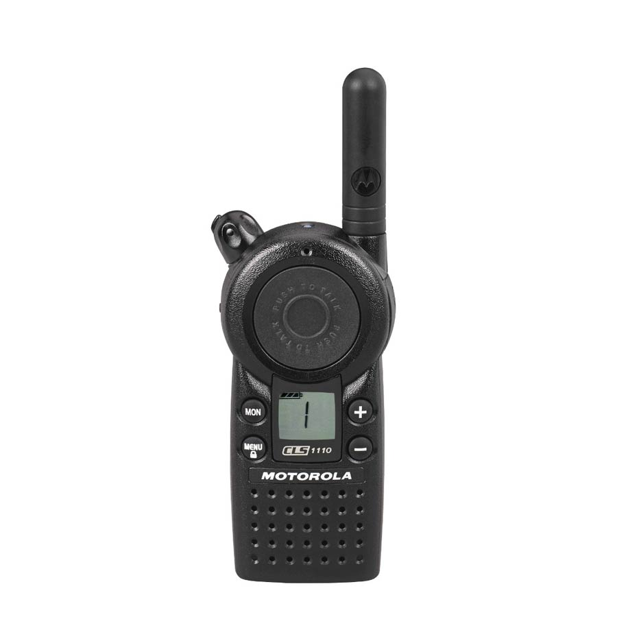 Motorola CLS 1110 - 1 Channel, UHF, Two-Way Radio