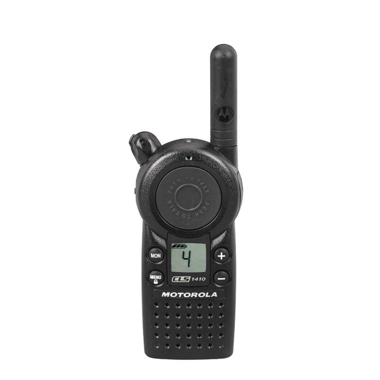 Motorola CLS 1410 - 4 Channel, UHF, Two-Way Radio