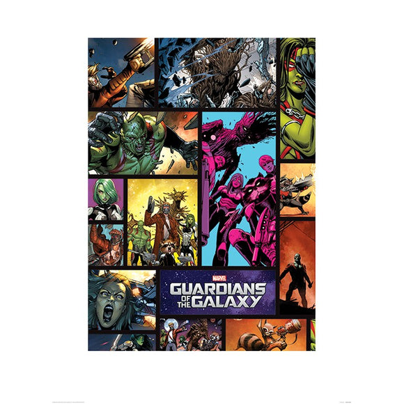 Guardians Of The Galaxy - Comics Wall Art