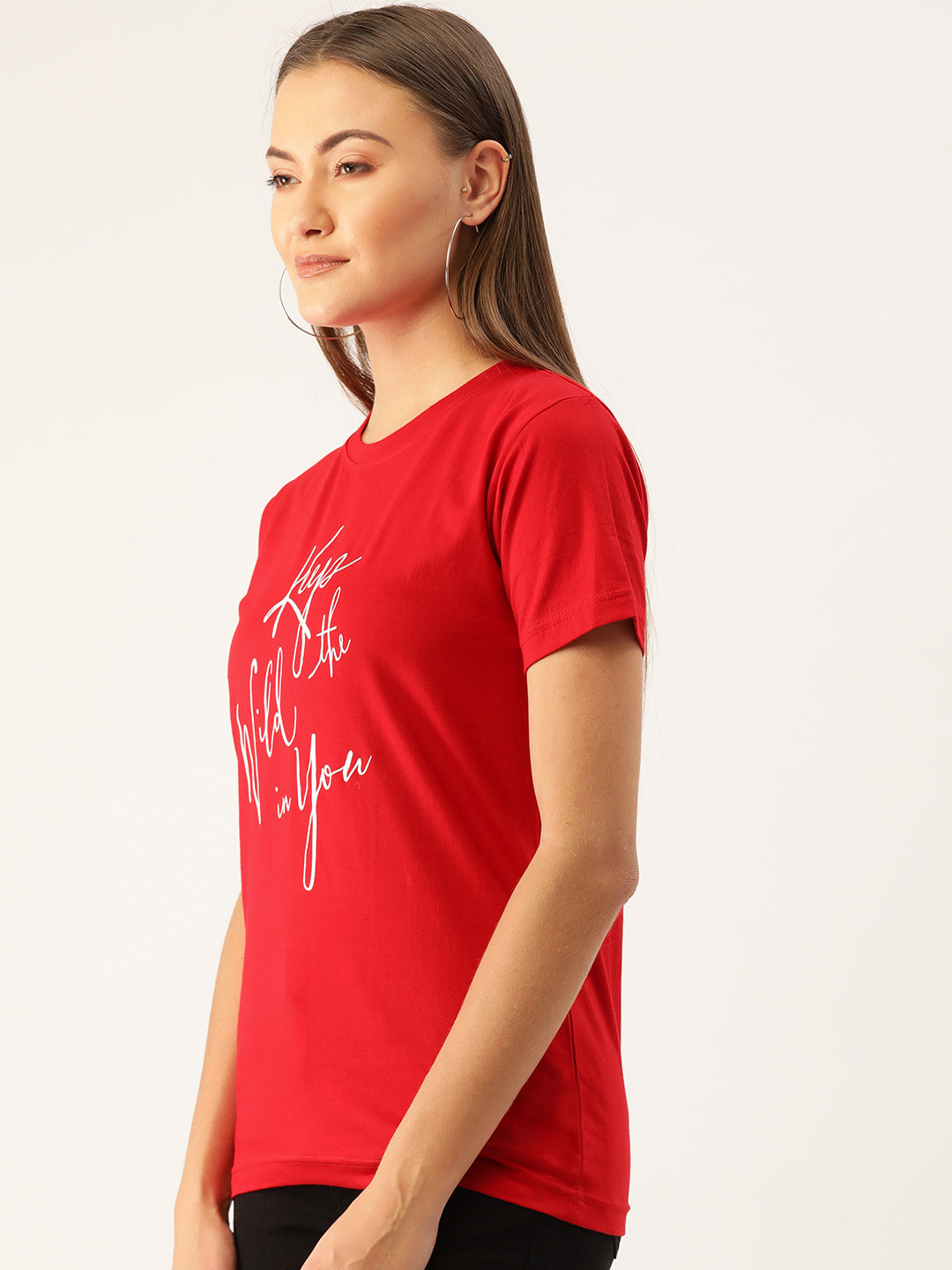keep The Wild In U Red T-Shirt