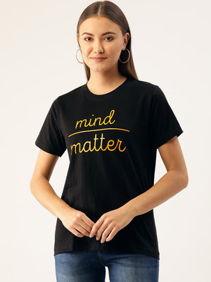 Mind / Matter Black T-Shirt
