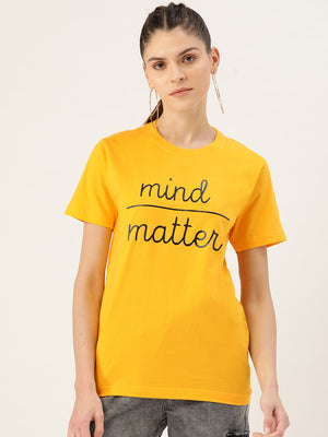 Mind / Matter Yellow T-Shirt