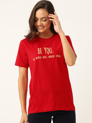 Be You - Red T-Shirt